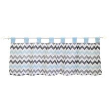 Chevron Baby Curtain Valance
