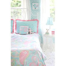 Pixie in Aqua Full Size Bedding Set