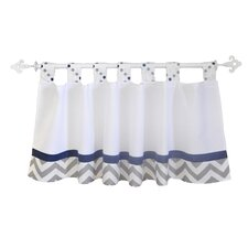 """Out of the Blue 54"""" Curtain Valance"""