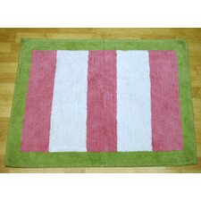 <strong>My Baby Sam</strong> Paisley Splash In Pink Kids Rug