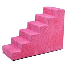 Designer 6 Step Pet Stair
