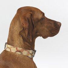 Triple Layer Firenze Microvelvet Dog Collar