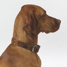 Triple Layer Duke Microvelvet Dog Collar
