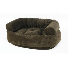 Double Donut Bolster Dog Bed