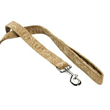 Stylish Triple Paisley Cedar Layer Dog Leash