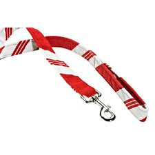 Stylish Triple Peppermint Stripe Layer Dog Leash