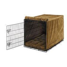 <strong>Bowsers</strong> Luxury Diam Microvelvet Dog Crate Cover