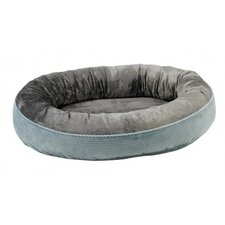 Plush Orbit Dog Bed