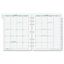 <strong>Franklin Covey</strong> Original Monarch Monthly Tab Planner