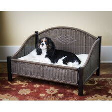 Decorative Pet Bed in Dark Brown