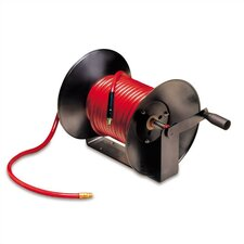 Workforce Series Manual Air Hose Reel with 3/8 in. ID x 100 ft. Hose