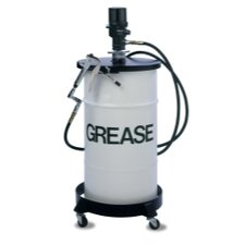 Performance Series 55:1 Ratio Grease Pump System for 16 Gallon /120LB Keg with Booster Gun and Dolly