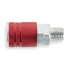 Red 1/4 Mnpt Coupler Type D