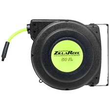 "Zilla Reel 3/8"" x 50' Enclosed Plastic Air Reel"