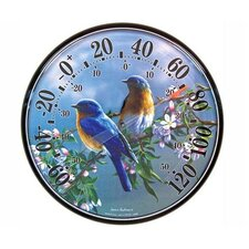 James Hautman Bluebird Thermometer
