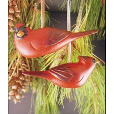 Two Assorted Cardinals Ornament