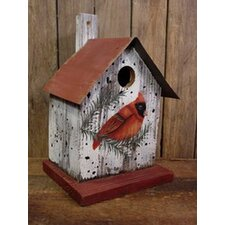 <strong>Adventure Marketing</strong> Cardinal Bird House