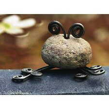 Stone Frog Mini Statue