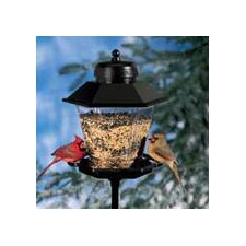 Coach Lamp Hopper Bird Feeder