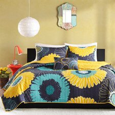 Alice 3 Piece Coverlet Set