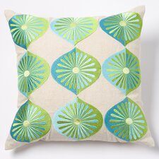 Many Fans Linen Pillow