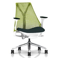 Sayl Executive Chair in Green Apple