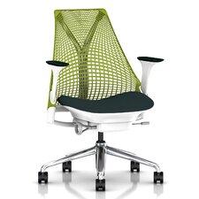 Sayl Executive Chair in Green Apple