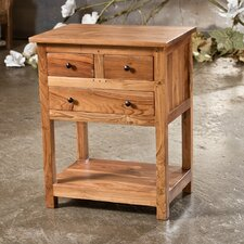 Reclaimed Teak End Table