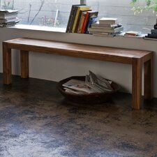 Reclaimed Teak Simple Bench