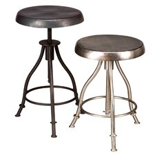 Iron Swivel Bar Stool