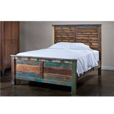 <strong>Wildon Home ®</strong> Reclaimed Panel Bed