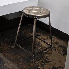 Metal Tufted Stool