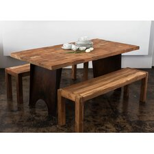 Reclaimed 3 Piece Dining Set
