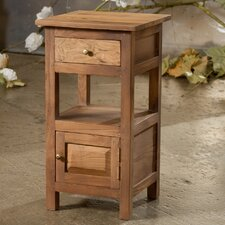 Reclaimed 1 Drawer Nightstand