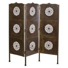 "66"" x 63"" Lotus 3 Panel Room Divider"