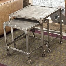 Industrial 2 Piece Nesting Tables