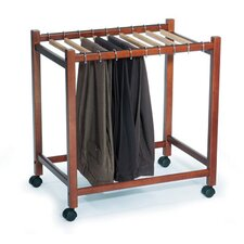 """Compact"" Pant Trolley in Dark Chocolate"