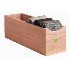 <strong>Woodlore</strong> Socks Box in Natural Cedar Finish (Set of 2)