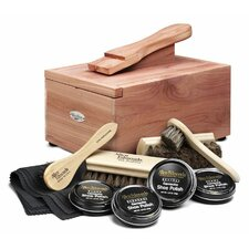 Cedar Shoe Care Valet with Starter Kit II