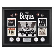 The Beatles 'On The Ed Sullivan Show' Framed Memorabilia