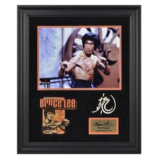 Bruce Lee 'The Dragon' Limited Edition Framed Memorabilia