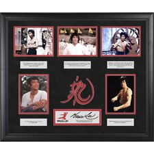 Bruce Lee 'The Wisdom Of Bruce Lee' Limited Edition Framed Memorabilia