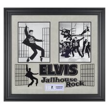 "Elvis Presley ""Jailhouse Rock"" I Framed Presentation - 23"" X 25"""