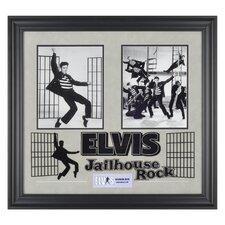 Elvis Presley 'Jailhouse Rock' I Framed Memorabilia