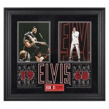 Elvis Presley '1968' Framed Memorabilia