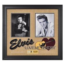 Elvis Presley 'Love Me Tender' I Framed Memorabilia