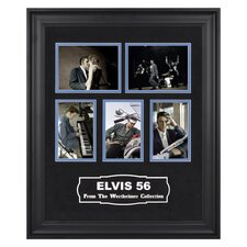 "Elvis Presley ""Elvis 56"" Colorized Presentation - 23"" X 19"""