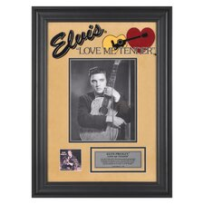 "Elvis Presley ""Love Me Tender"" II Framed Presentation - 23"" X 16"""