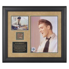 Elvis Presley 'The June 10, 1958 Recording Sessions' Framed Memorabilia
