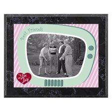 I Love Lucy 'The Golf Game' Memorabilia Plaque
